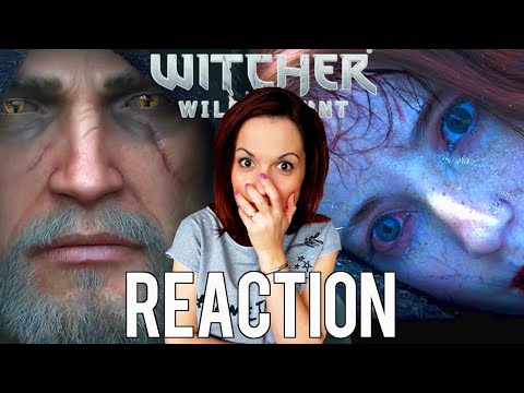 Witcher 3: The Wild Hunt Cinematic Trailers Reaction