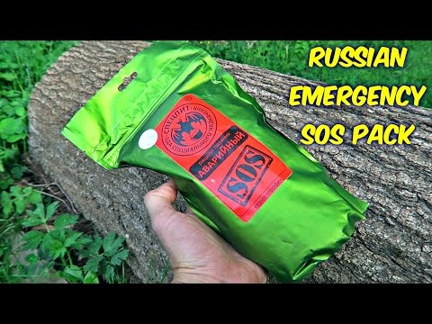 Thumbnail: Testing Russian Emergency SOS MRE (Meal Ready to Eat)