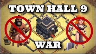 CLASH OF CLANS - NEW TOWN HALL 9  BEST WAR BASE 2018|ANTI 3 STARS|ANTI ALL TROOPS|
