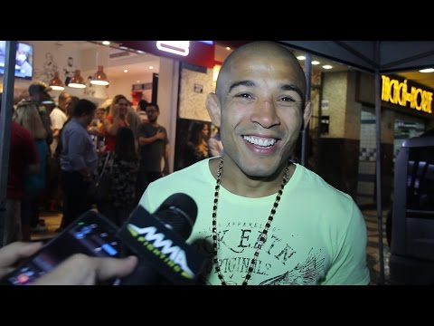 Jose Aldo Media Scrum in Rio