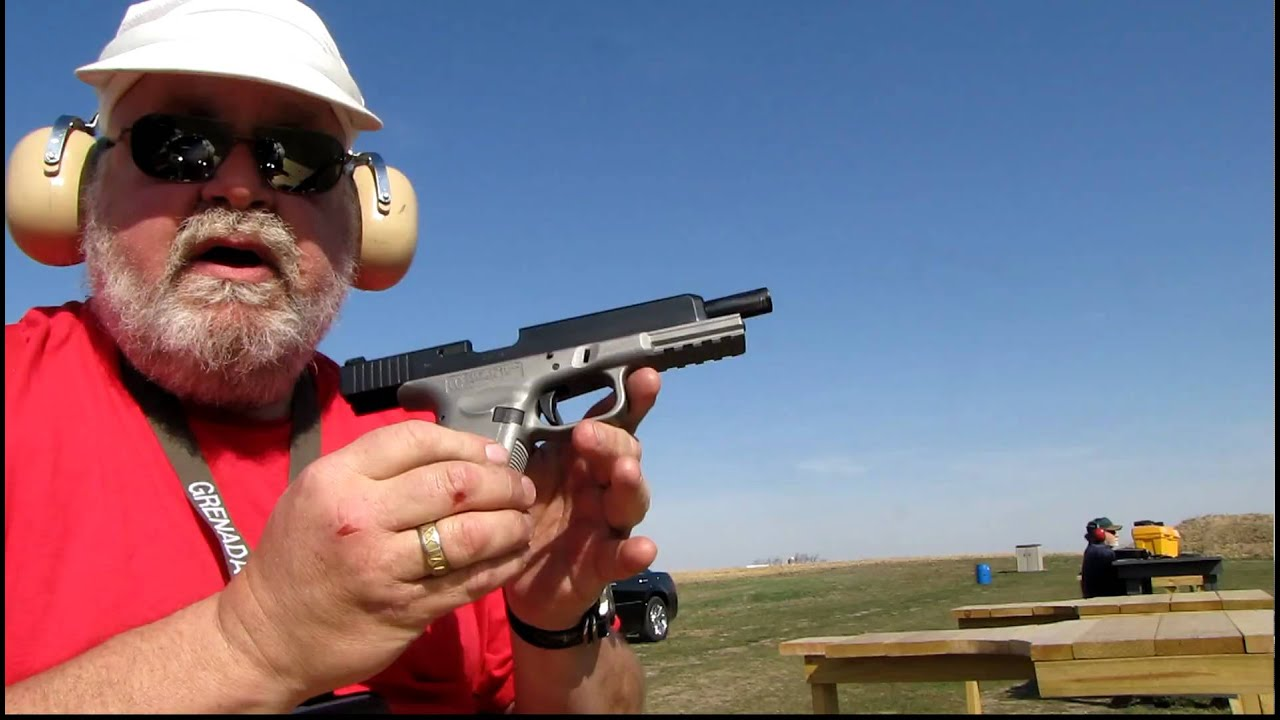Glock NOT- ISSC M22 and CCF Raceframes Stainless Steel Glock clone ...