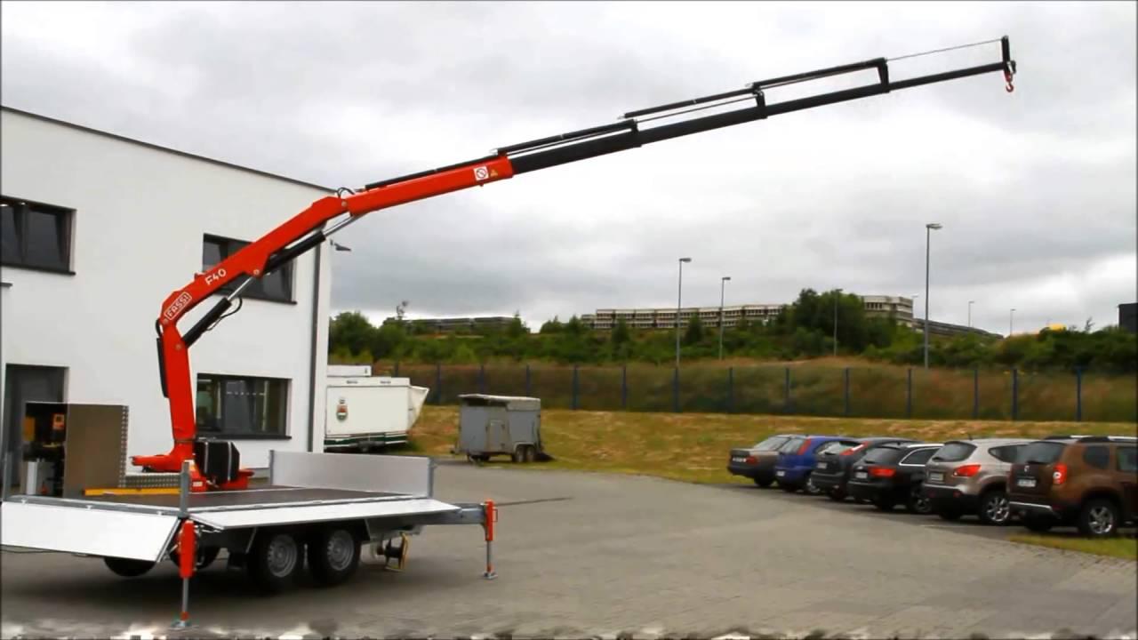 Krananhanger 12m Von Klagie Fahrzeugbau Youtube