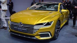 Volkswagen Sport Coupe GTE Concept 2015 Videos