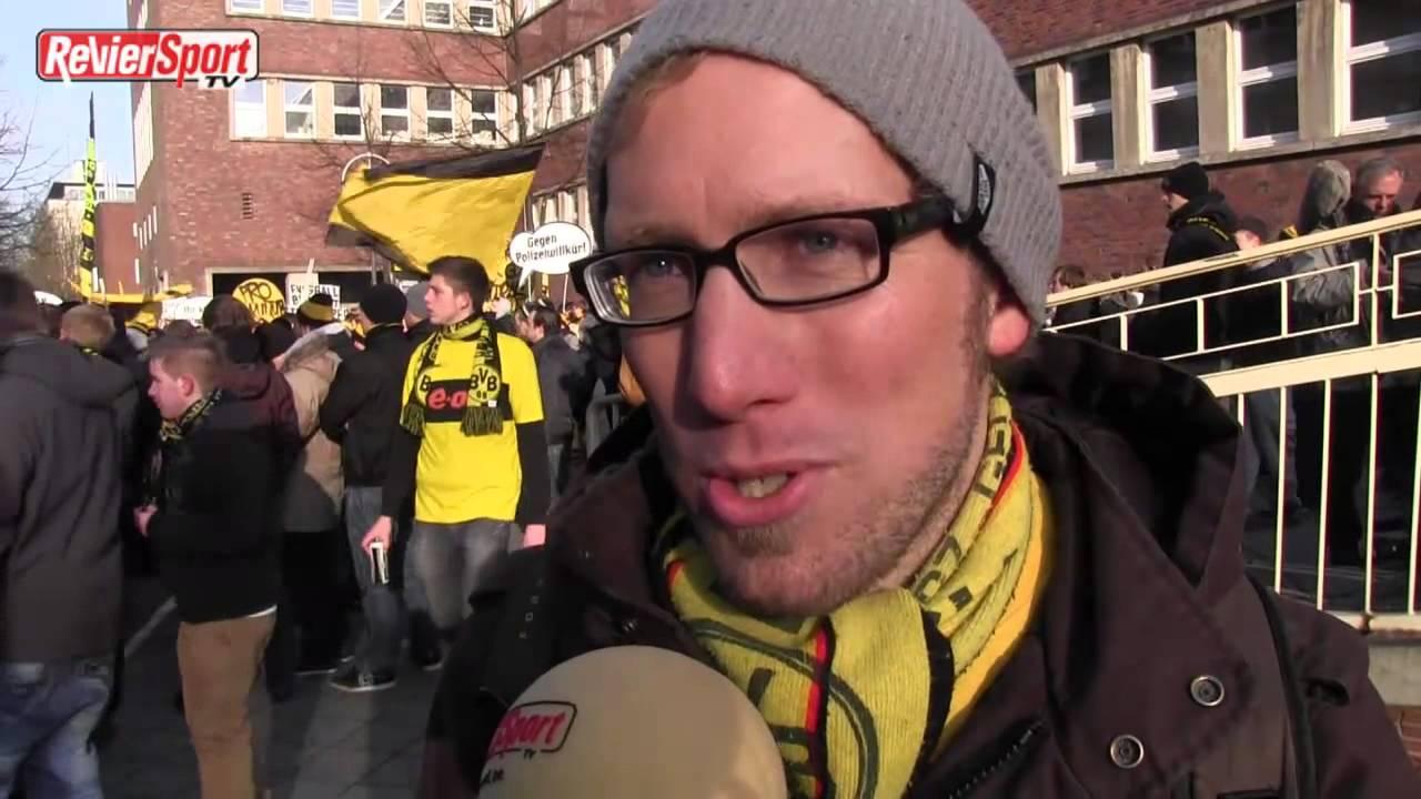 2.500 Fans protestieren in Dortmund