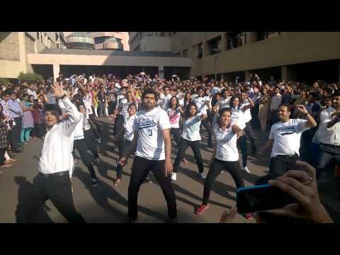 Flash mob L&T infotech mahape 2014