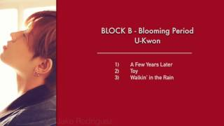 BLOCK B - Very Good to Yesterday - U-Kwon Cut