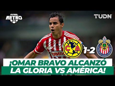 ¡El día que Omar Bravo se convirtió en el máximo goleador de Chivas! | América vs Chivas 2015 | TUDN