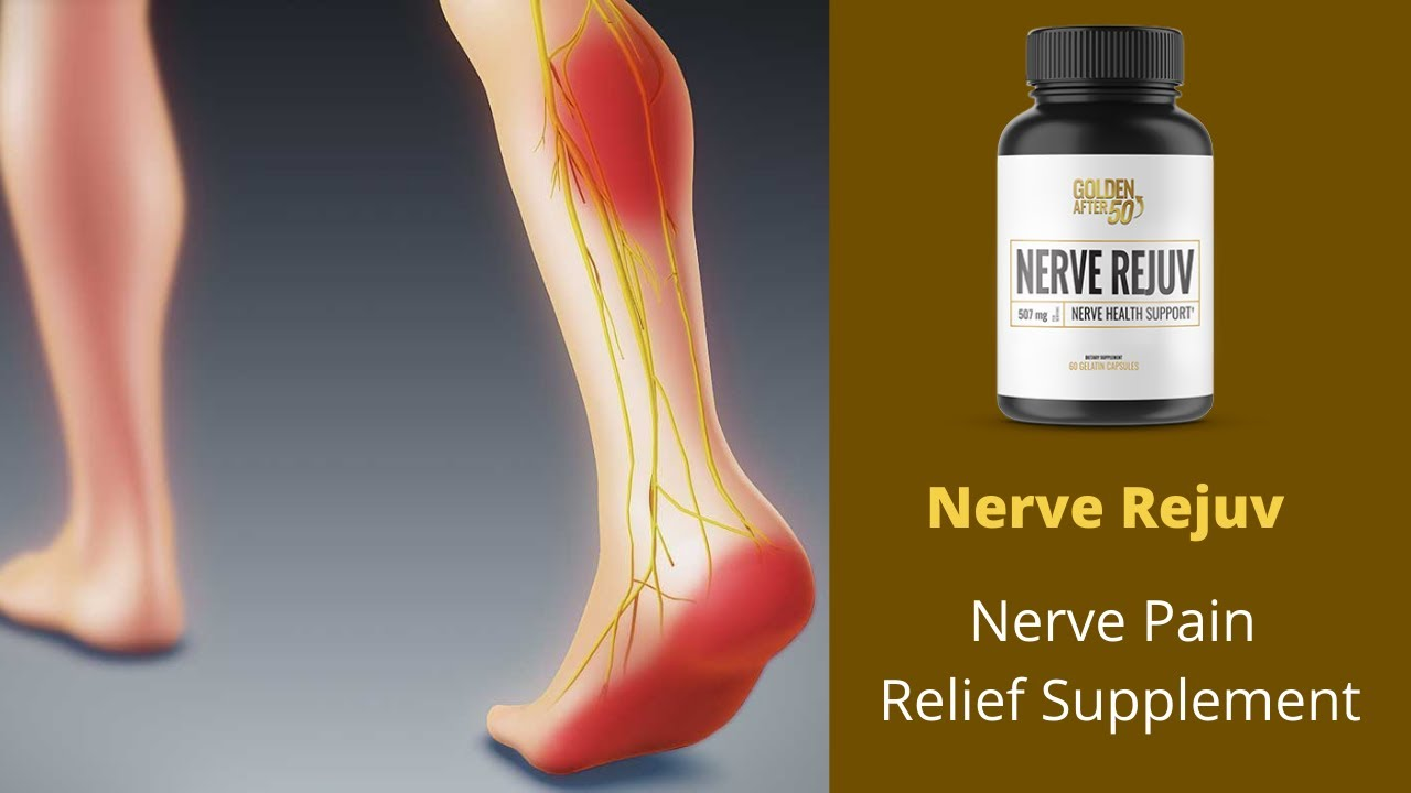 How to Ease the Sciatic Nerve Pain? Try Nerve Rejuv - YouTube