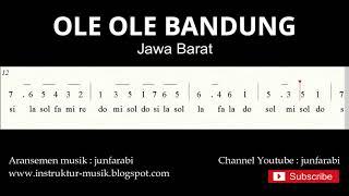 not angka ole ole bandung - lagu daerah tradisional nusantara indonesia - doremi