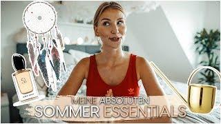 Meine absoluten SOMMER ESSENTIALS 😍 Das darf im Sommer nicht fehlen! | AnaJohnson