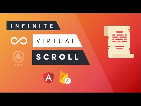 Angular 7 Virtual Scroll - To Infinity and Beyond - YouTube