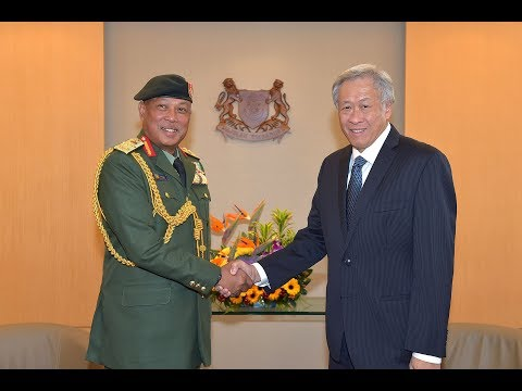 DSO(M) Investiture for Chief of the Malaysian Armed Forces GEN Tan Sri' Affandi