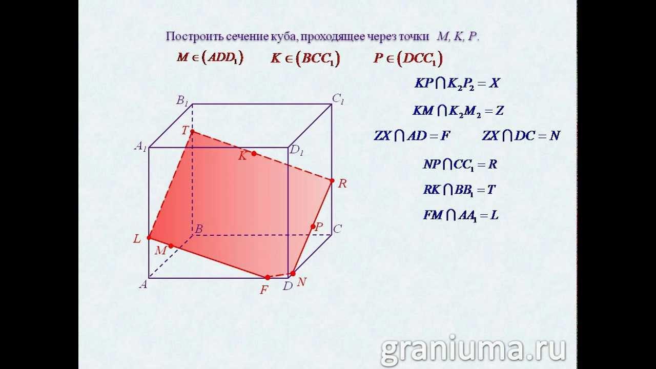 Решение задач на сечение куба термодинамика и решение задач скачать бесплатно