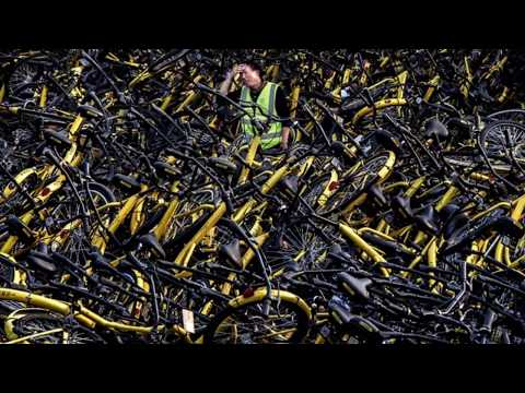 Chinese bike share graveyard a monument to industry's 'arrogance'. - Latest News - 25-11-17