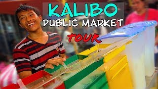 Foreigner's first time at a market in the Philippines! | Kalibo Public Market