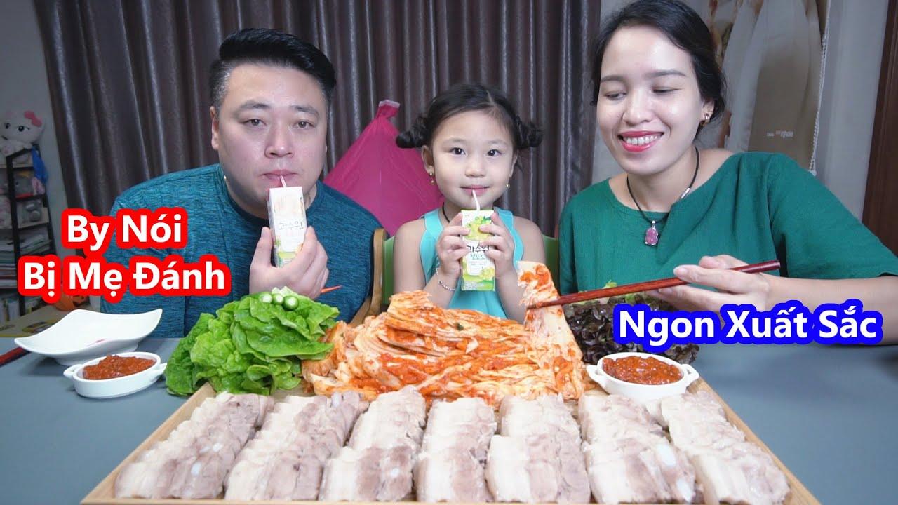 Kim Chi Cuốn Thịt Luộc Ngon Hết Sảy (Boiled Pork , Kimchi , 김치보쌈) [Cuộc Sống Hàn Quốc]
