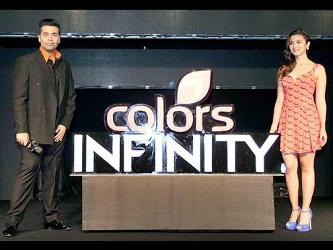 Grand Launch Of Viacom18 Brand || Colors Infinity ||  Karan Johar || Alia Bhatt || Bollywood