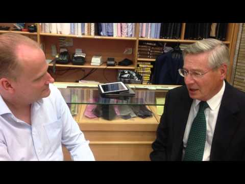 Pacific Custom Tailors Interview Sir Cyril Chantler