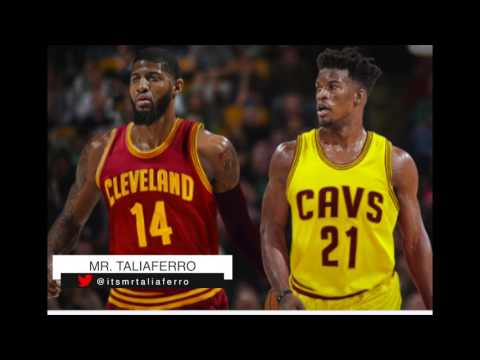 Cleveland Cavaliers Are Looking To Trade For Jimmy Butler Or Paul George Tonight! Heres The Details