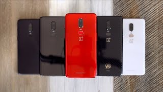 Das neue rote Oneplus 6: Unboxing & Farbvergleich! - felixba