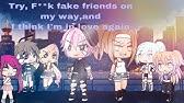 Try, F**k fake friends, on my way,I think I'm in love again. 20K Special GLMV'S