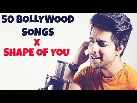 #Flashup | 1 Guy 50 Songs | 50 Songs on One Beat | Shape Of You
