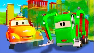 Эвакуатор Том в Автомобильный Город | Мультфильм для детей