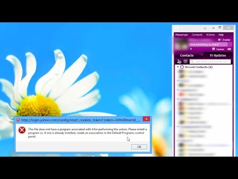 How To Fix Yahoo Messenger Mail Button Error