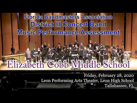 FBA District 3 Concert MPA: Elizabeth Cobb Middle School Symphonic Band