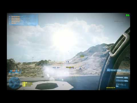 Battlefield 3: IzNoGooD343 in jet @ Operation Firestorm #9