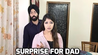 Surprise for Dad | Funny Comedy Vines | Harshdeep Ahuja V36