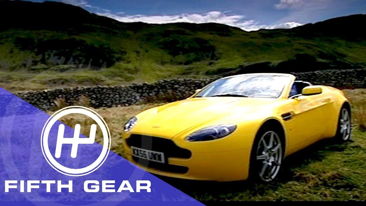 Fifth Gear Aston Martin V8 Vantage Roadster