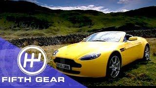 Fifth Gear: Aston Martin V8 Vantage Roadster