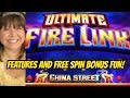 BALLS & FREE SPINS ON ULTIMATE FIRE LINK SLOT MACHINE