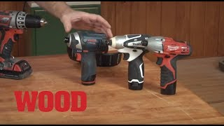 Impact drivers: How they work and why you need one - WOOD magazine
