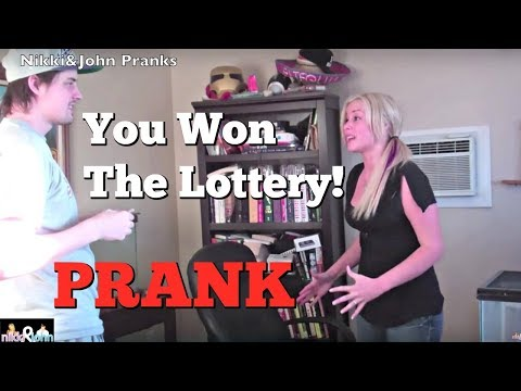 Mega Millions Prank On Girlfriend