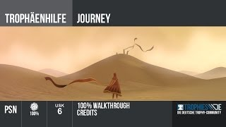 Journey  - 100% Walkthrough - Credits