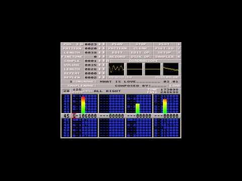 Amiga music: Zenith - What Is Love (Computer Instrumental Club Mix)
