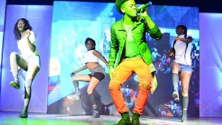 Korede Bello Romantic featuring Tiwa Savage Live Performance on Stage