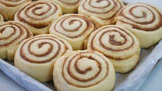 Easy Cinnamon Rolls With Fluffy Lemon Condensed Milk Frosting