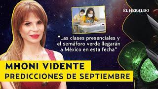 MHONI VIDENTE predice SISMO, huracanes y fecha de SEMÁFORO VERDE en MÉXICO