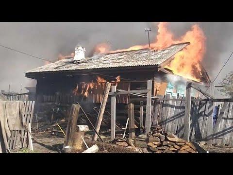 Feuer In Sibirien