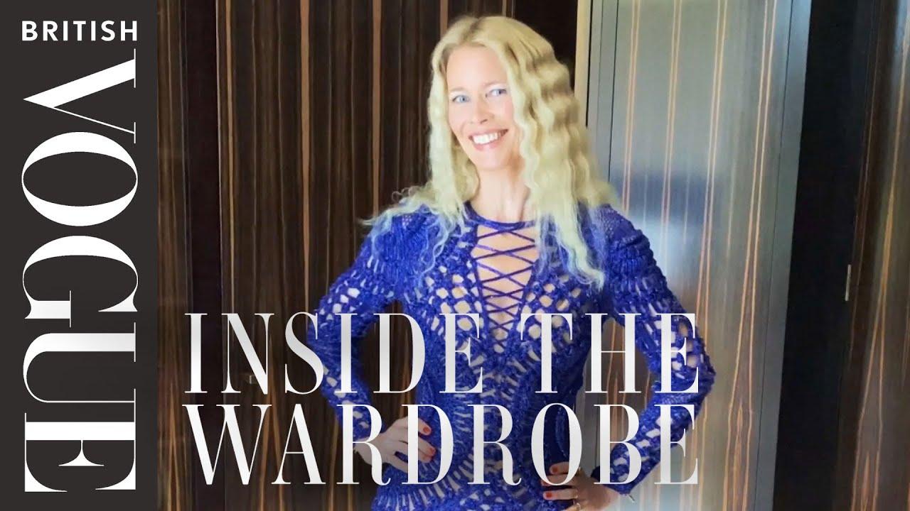 Claudia Schiffer: Inside The Wardrobe | British Vogue