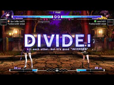UNDER NIGHT IN-BIRTH Exe:Late[cl-r] - Marisa v gamefrk511 (Match 3) |