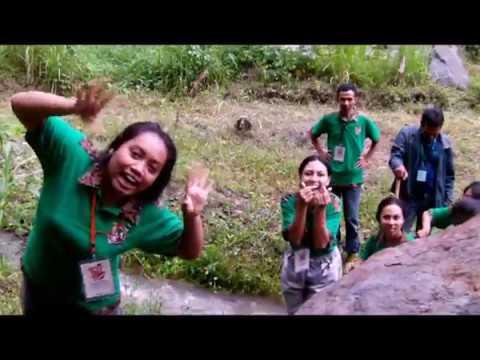 Outbond Sanjaya Edu Park Konfernas Legio Maria Kaum Muda IV 2018