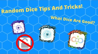 Random Dice Tips And Tricks! | What Dice Are Good? | Arena Gladiator 12 Win Box Opening!