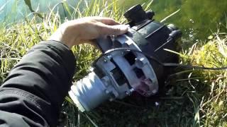 circulateur 50mm modifié moteur BLDC 12v tri