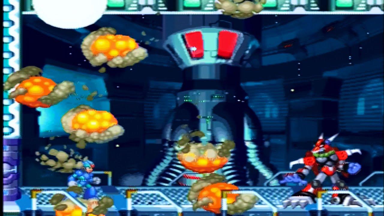 Mega Man X4 Walkthrough (PS2) Part 1 - YouTube