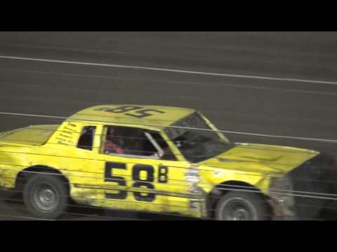 Shiverfest Hobby Stock Heat 1 Lee County Speedway 10/25/14