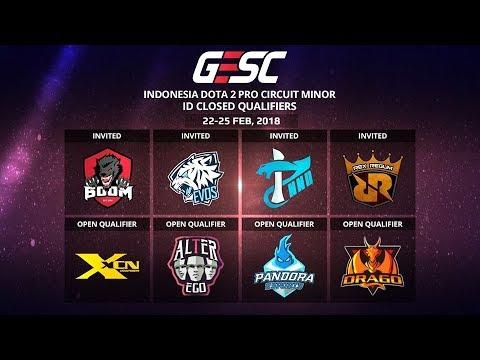 BOOM.ID vs XCN @GESC Indonesia Dota 2 Jakarta Minor, ID Closed Qualifier